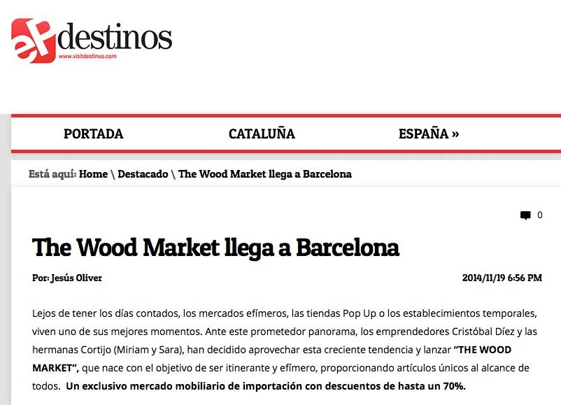 Destinos de El Periódico de Catalunya