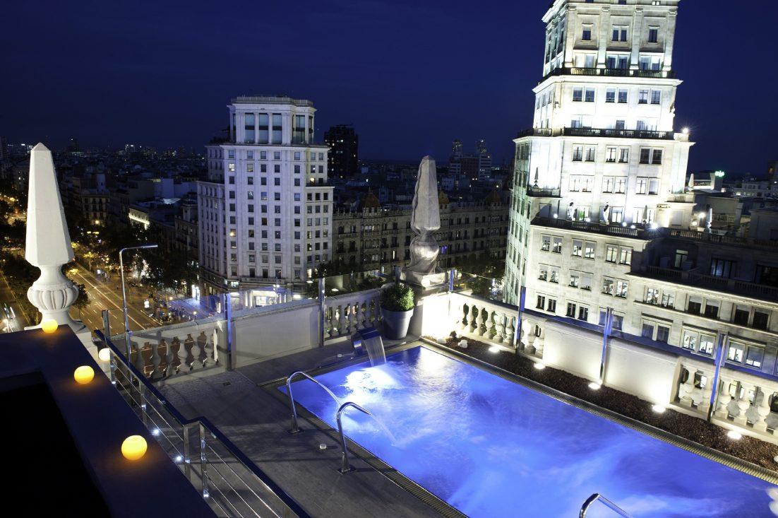 inauguraci n terraza hotel avenida palace jesus oliver. Black Bedroom Furniture Sets. Home Design Ideas